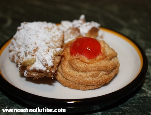 Biscotti di pasta di mandorle senza glutine