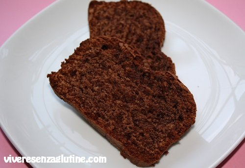 Gluten-free hazelnut and chocolate plum cake