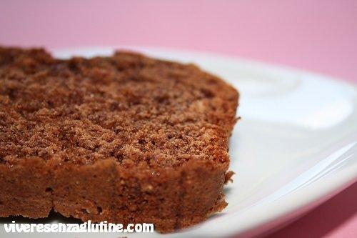 Plumcake nocciole e cioccolato senza glutine