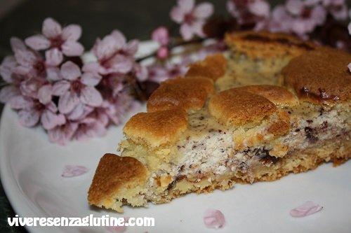 Crostata ricotta e cioccolato senza glutine