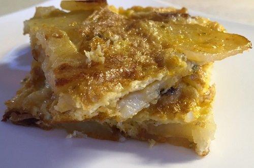 Gluten-free potato omelette