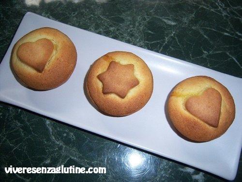 Gluten-free small apple cakes