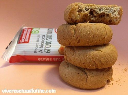 Biscotti ripieni senza glutine Germinal Bio