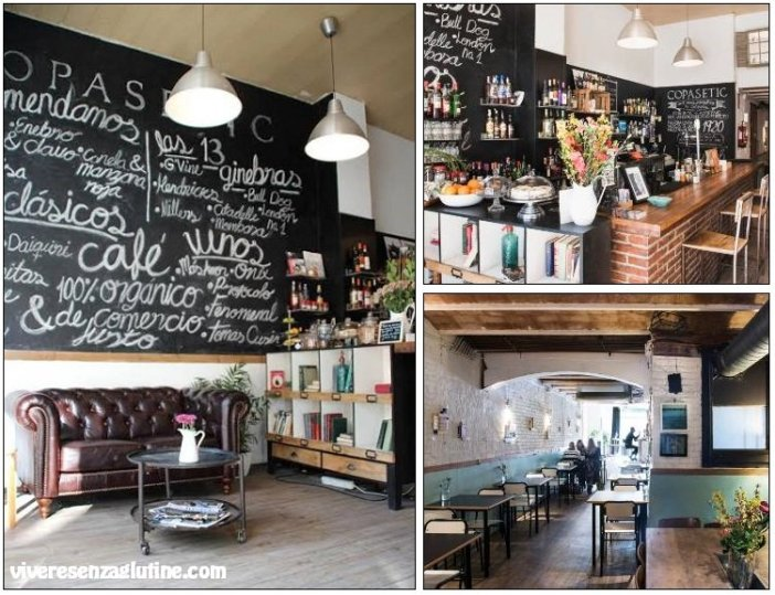 Copasetic Barcelona with gluten-free dishes