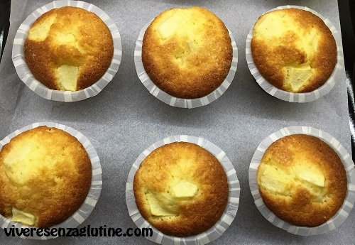 Gluten-free mounted apple cupcakes by Montersino