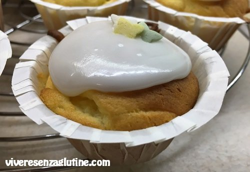 Cupcake al limone senza glutine