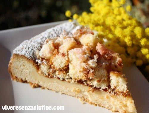 Crostata mimosa senza glutine