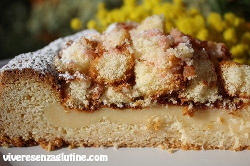 Gluten-free mimosa pie