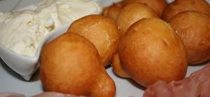 Pasta fritta senza glutine (Coccoli fritti fiorentini)