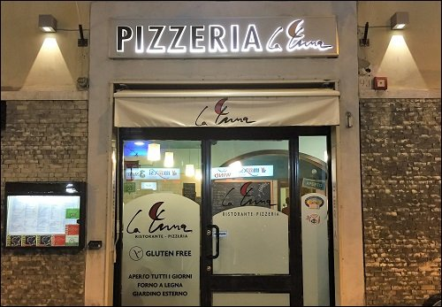 Gluten-free Pizzeria La Luna Firenze