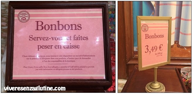 Disneyland Paris - caramelle