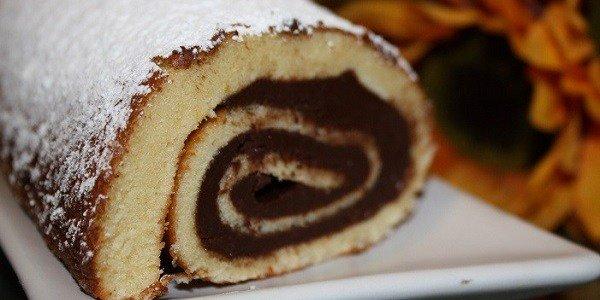 Chocolate roll...