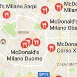 Mc Donald's Milano senza glutine