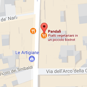 Pandalì - Mappa