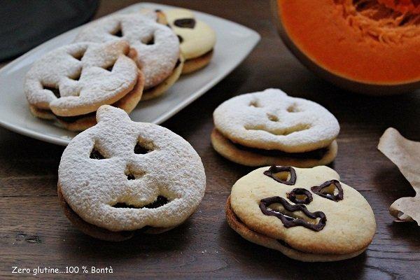 Biscotti di Halloween senza glutine