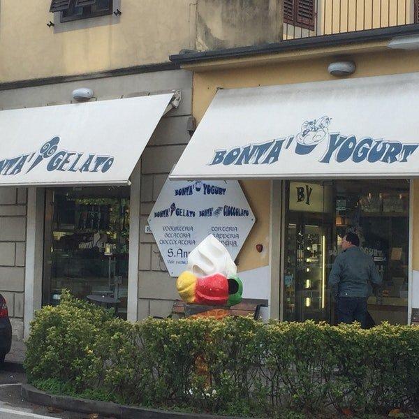 Bontà Yogurt e Gelati senza glutine Lucca