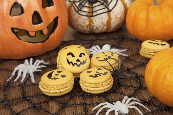 Macaroons di Halloween