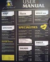 Innsbruck - Fischerhaeusl Restaurant - Menu'