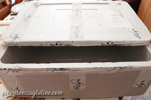 'A Pizza - External Packaging