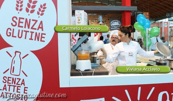 Gluten Free Expo - Alcuni chef presenti in fiera...