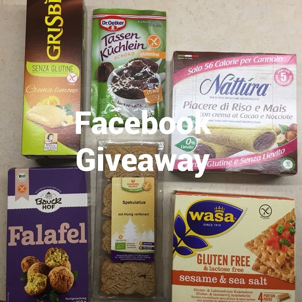Gluten-free Giveaway on Facebook
