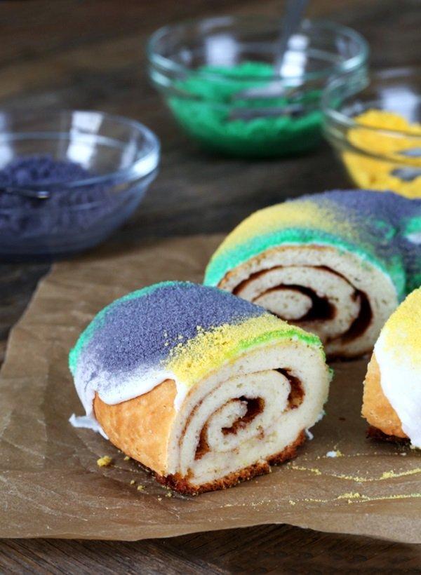 Gluten freeMardi Gras King Cake