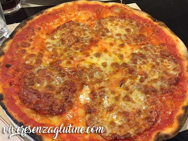 Lievito 72 gluten-free pizza in Rome