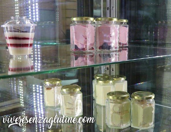 Fonte della salute gluten-free ice-cream in Rome