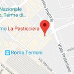La pasticciera Roma - mappa