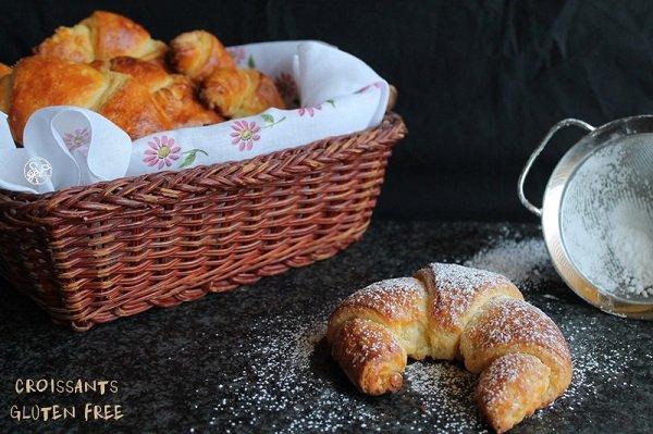 Croissant sfogliato senza glutine