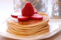 Pancake alla banana senza glutine e senza lattosio