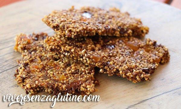 Granola di quinoa senza glutine