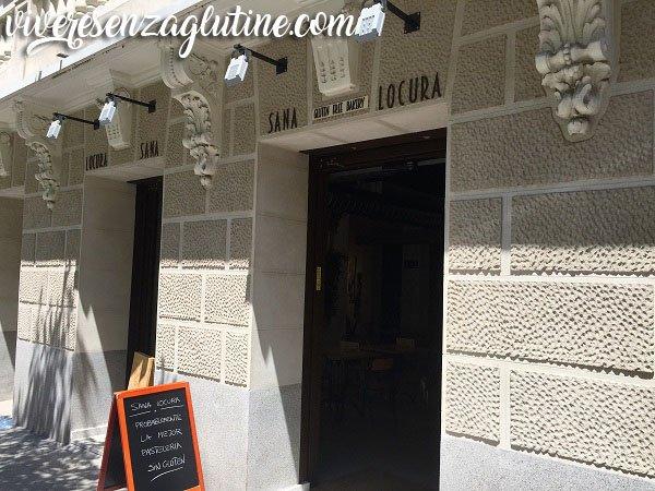 Sana Locura gluten-free bakery in Madrid