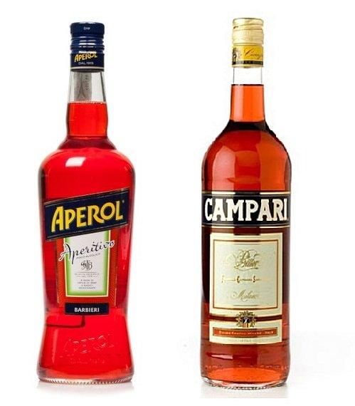 Aperol e Campari