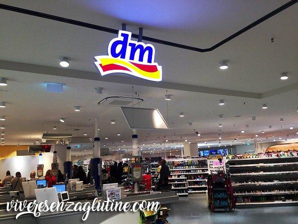 dm Supermercati con prodotti senza glutine a Innsbruck