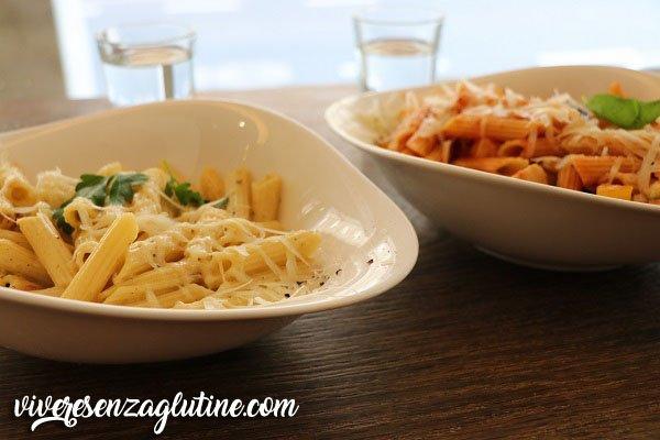 Vapiano gluten-free pasta in Innsbruck
