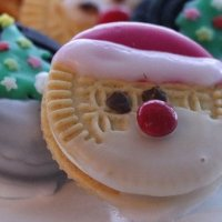 Christmas decoration: Christmas filled cookies gluten-free