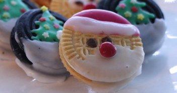 Biscotti farciti senza glutine natalizi