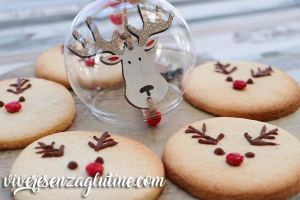 Rudolph the reindeer gluten-free cookies