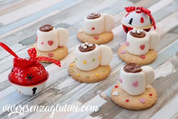 tazze di cioccolato senza glutine