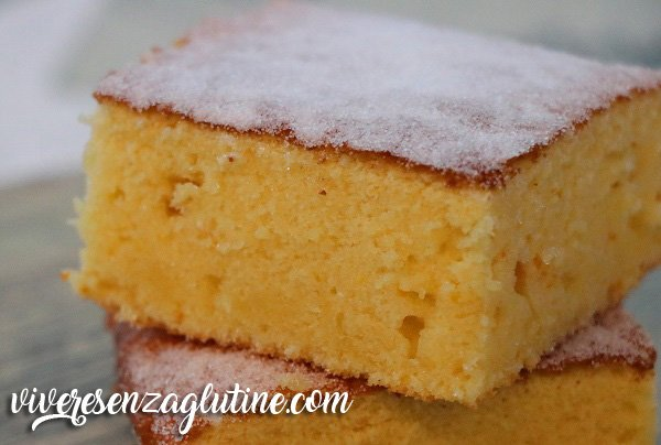 Orange blondies gluten-free