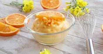 Crema pasticcera all'arancia senza glutine