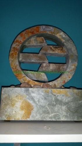 Fuente de piedra natural de mesa Circle
