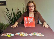 Cleo Azevedo na Feira Livro Pelotas 2013