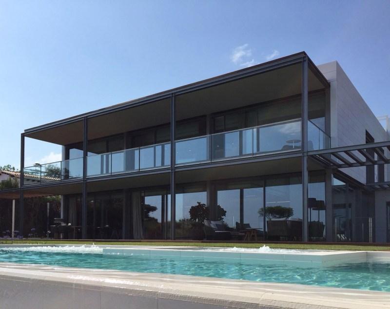 Viviendas unifamiliares pisos-obra-nueva-fachada