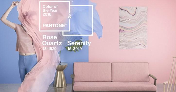 Rose Quarts y Serenity - Pantone 2016
