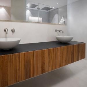 mueble madera baño moderno 043