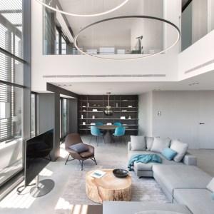 salon en duplex Diagonal Mar Barcelona 021
