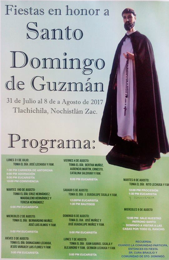 Fiestas en Santo Domingo