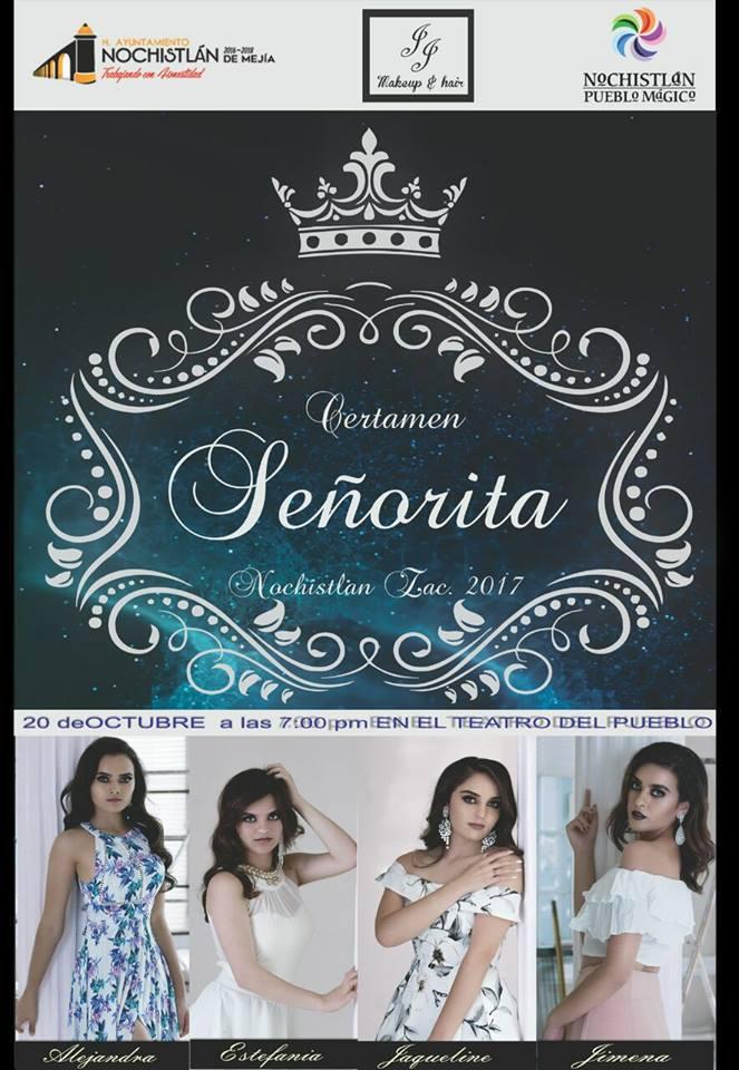 Hoy Gran Certamen Señorita Nochistlán 2017